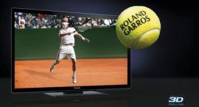 Roland Garros ook in 2011 live in 3D