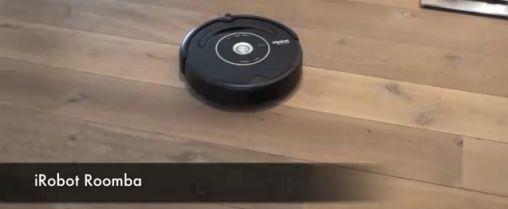 Roomba iRobot Stofzuiger by Kinect