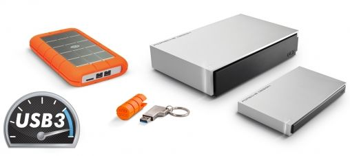 Rugged USB 3.0 Thunderbolt-serie voor Mac