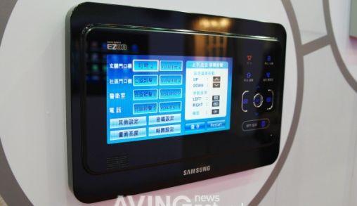Samsung Ezon Wall Pad voor Domotica