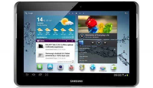 Samsung Galaxy Tab 2 (10.1) vooral voor Thuis