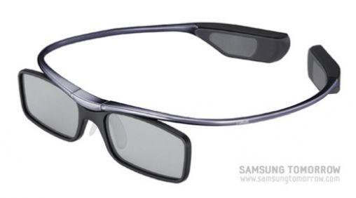 Samsung introduceert de lichtste 3D bril