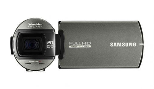 Samsung lanceert camcorder met Switch Grip