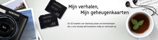 Samsung SD-kaart overleeft Wasmachine