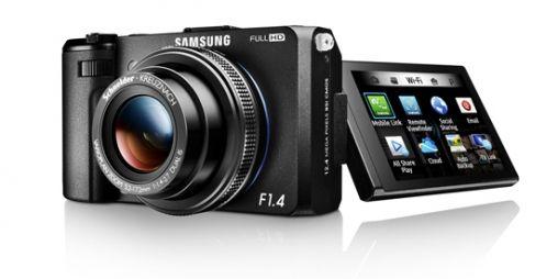 Samsung Smart EX2F met F1.4 en WiFi