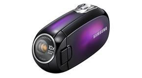 Samsung SMX-C20UN met 25-graden gekantelde lens