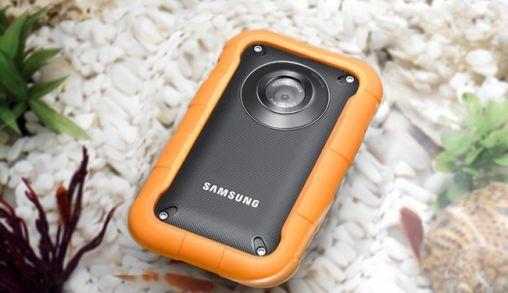 Samsung W350 camcorder kan tegen een stootje