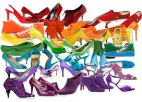 Schoenen die van Kleur Veranderen