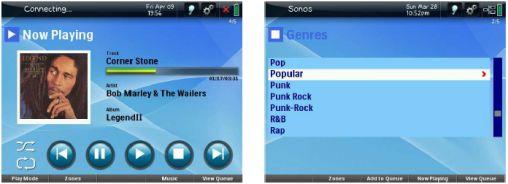 Screen Sonos Pronto