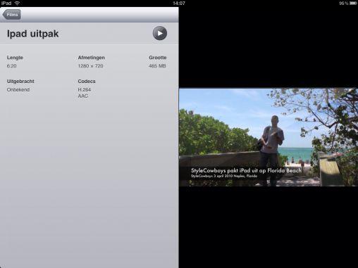 screen Video iPad