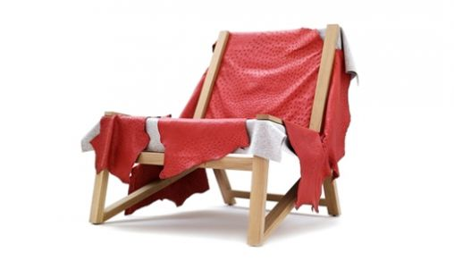 Second skin stoel rood 2