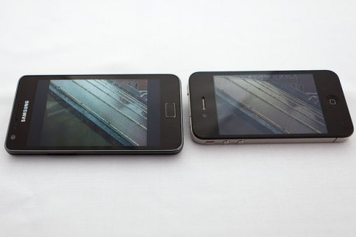 Side by Side GS2 iPhone 4