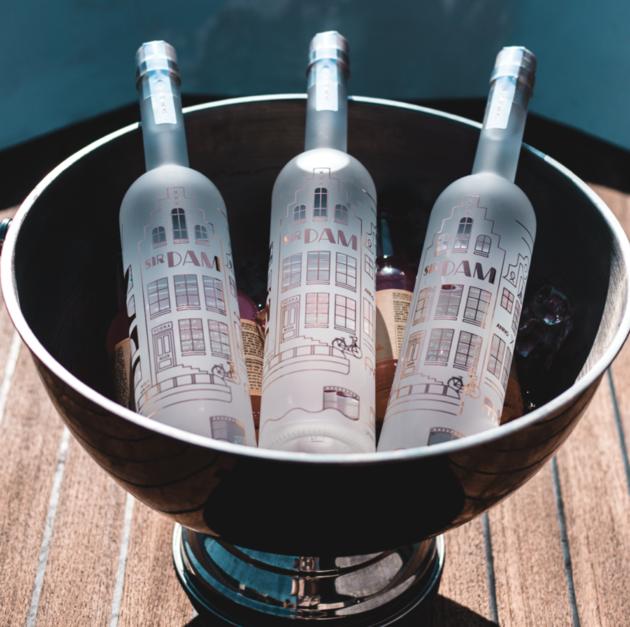 Sir Dam wodka Amsterdam