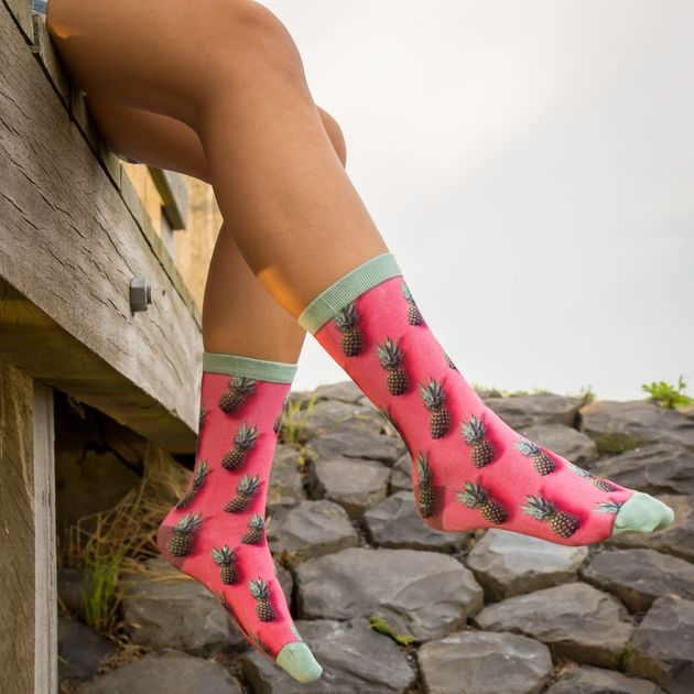 Sock My Feet Pineapple