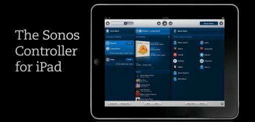 Sonos Controller App voor iPad