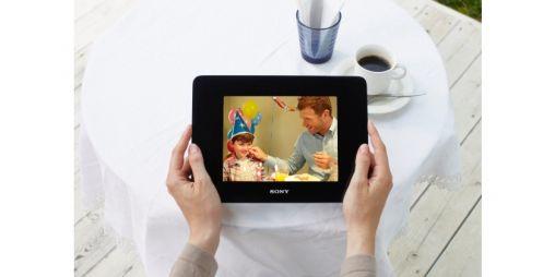 Sony brengt digitale fotolijsten met HD-video functie