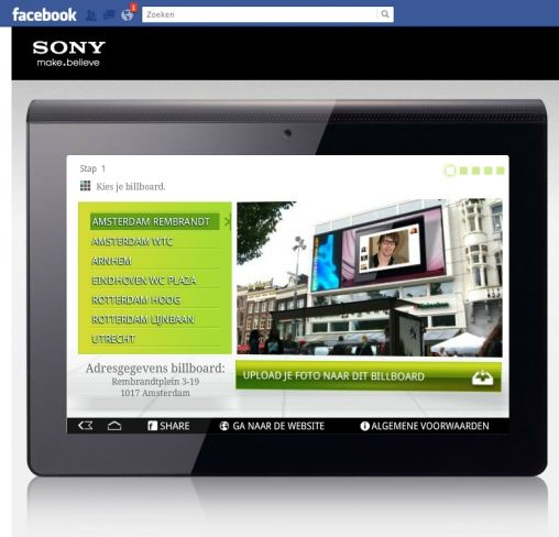 Sony Facebook