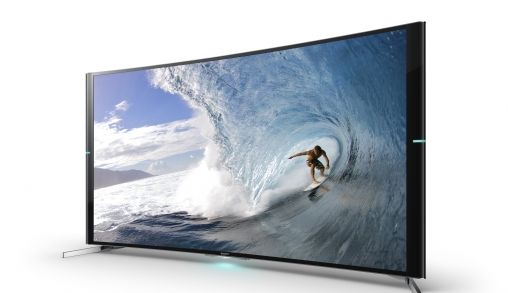 Sony introduceert curved 4K-tv met surround sound