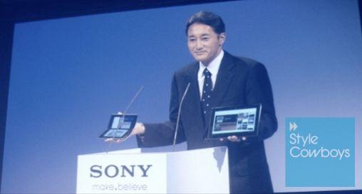 Sony S en Sony P tablets geïntroduceerd