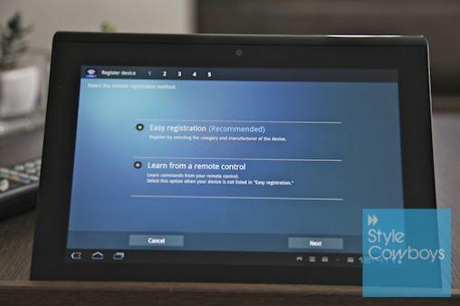 Sony S tablet - SC 289