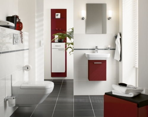 space efficient bathroom designs