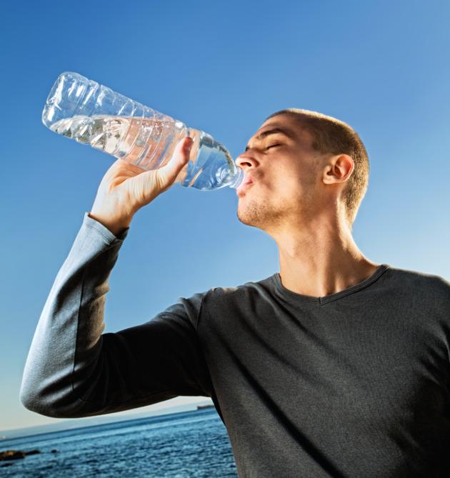 Spierpijn water