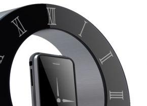 Stijlvolle iPhone dock/klok