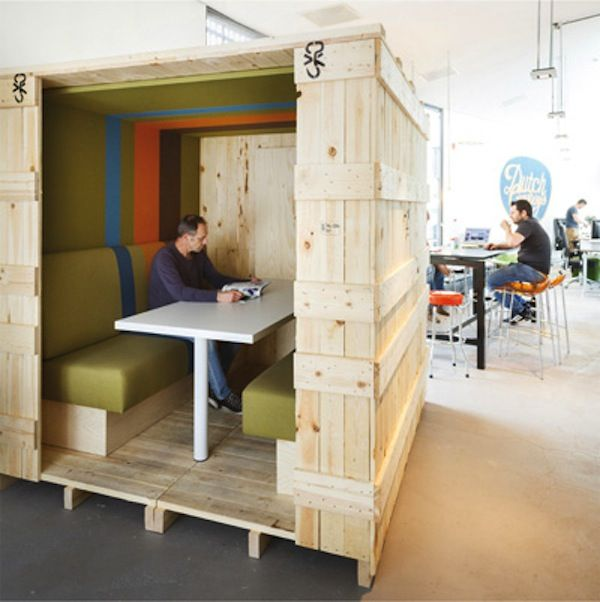 3x bijzondere stilteruimtes op kantoor for Kantoor interieur ideeen