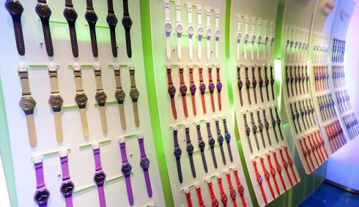Swatch presentatie New Gent Collectie