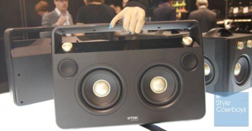 TDK introduceert een draadloze Boombox en weerbestendige speaker