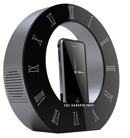 The Sharper Image iPhone dock1