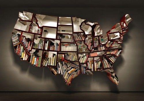 The-United-States-Map-Bookshelf-By-Ron-Arad-