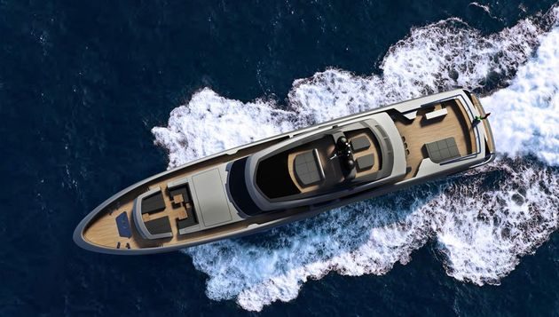 The-yacht-from-an-aerial-view
