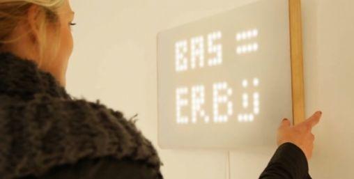 tiLumi: je digitale boodschap als kunstobject aan de muur