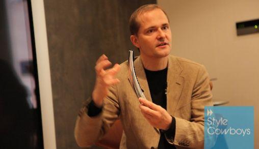 Torsten Valeur: ontwerpen met passie voor Bang & Olufsen