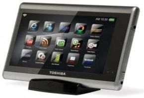 Toshiba JournE Touch Multimedia Tablet Hands On