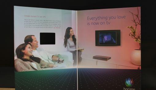 UPC introduceert video in papieren Playboy Magazine