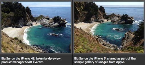Vergelijking camera iPhone 5 met iPhone 4S