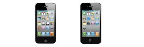 Vergelijking iPhone 4 & iPhone 4S