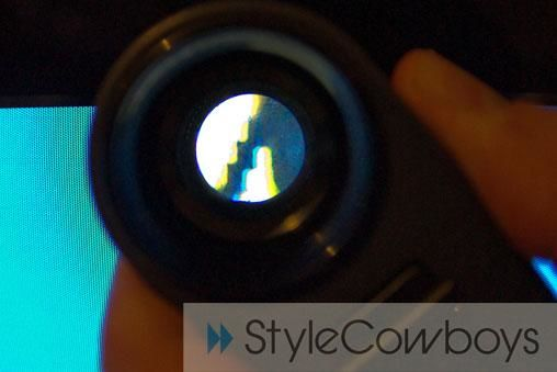 Vergrootglas op scherm1