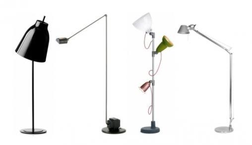 Vier op een rij: vloerlampen