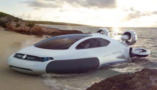 Volkswagen Aqua, Auto concept Zonder Wielen