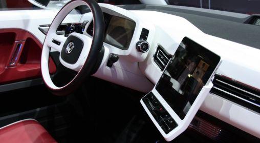Volkswagen Bulli Concept met iPad