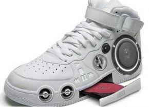 Vreemde schoenen