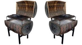 Whiskey vat BBQ