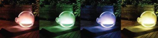 Wonderlamp kleuren