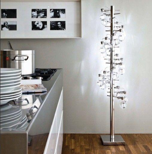 Wonderlamp vloerlamp omgeving