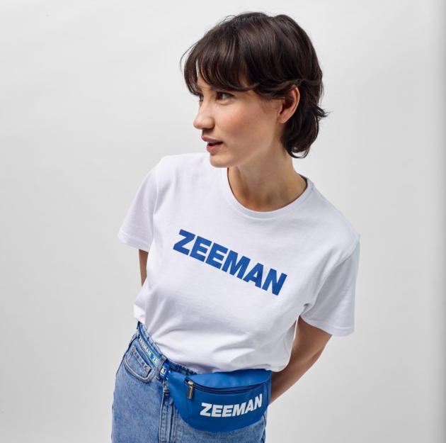 Zeeman tasje fan shirt