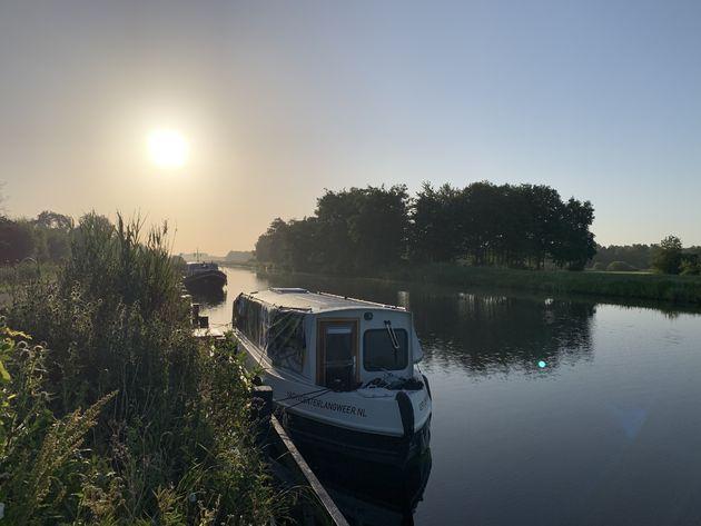 Zonsopkomst Friesland