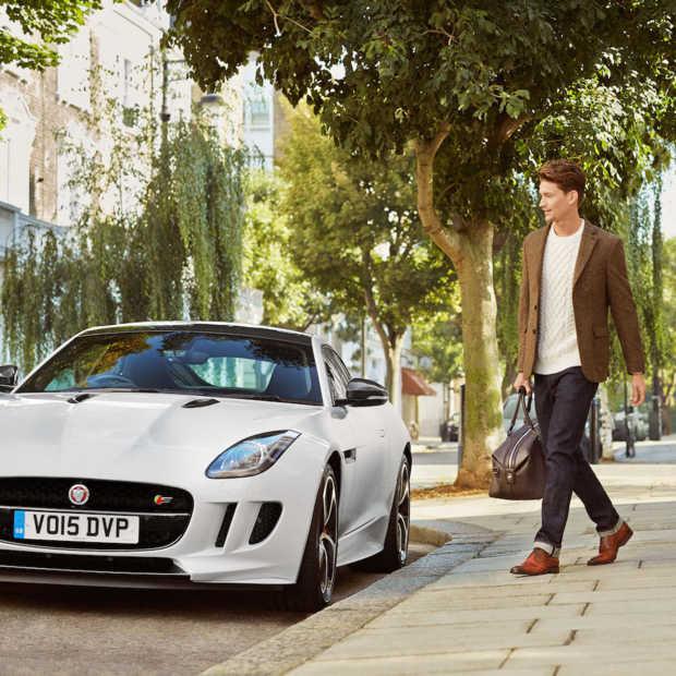 Rijden in stijl met de Jaguar X Oliver Sweeney schoenen